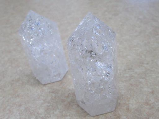 ☆クラック水晶六角柱