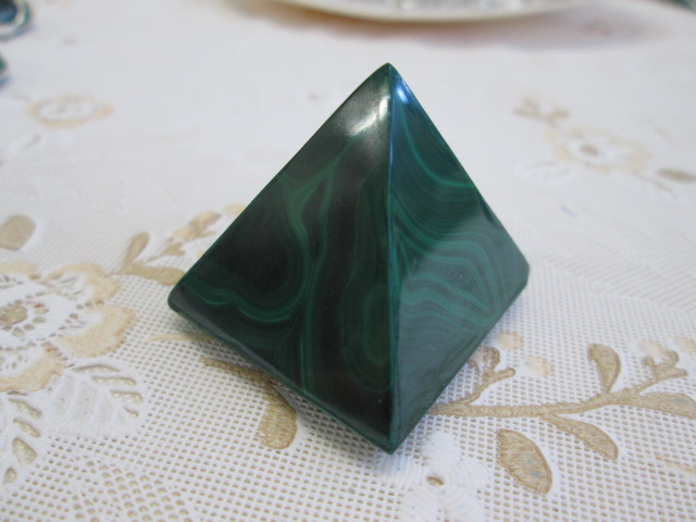 ☆マラカイト ピラミッド ¥2,100