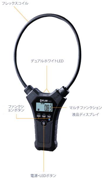 フレックススタンドアロン電流プローブ CM55/CM57