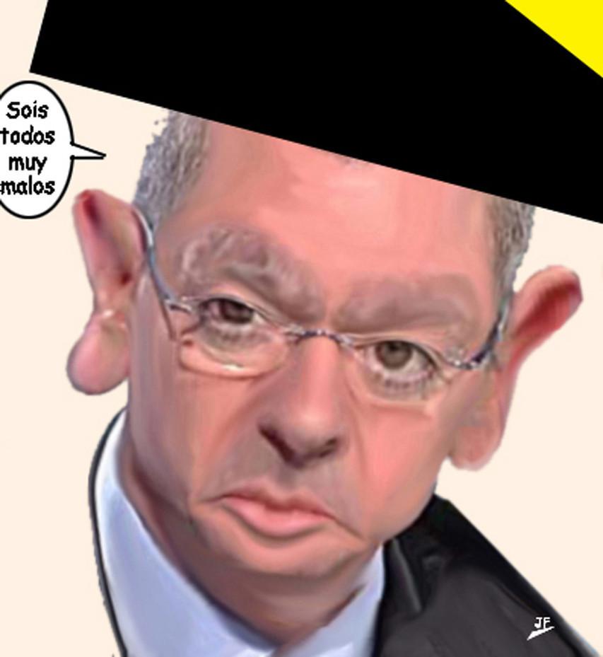 Alberto Ruíz Gallardón.-cartoonja.com FEDE