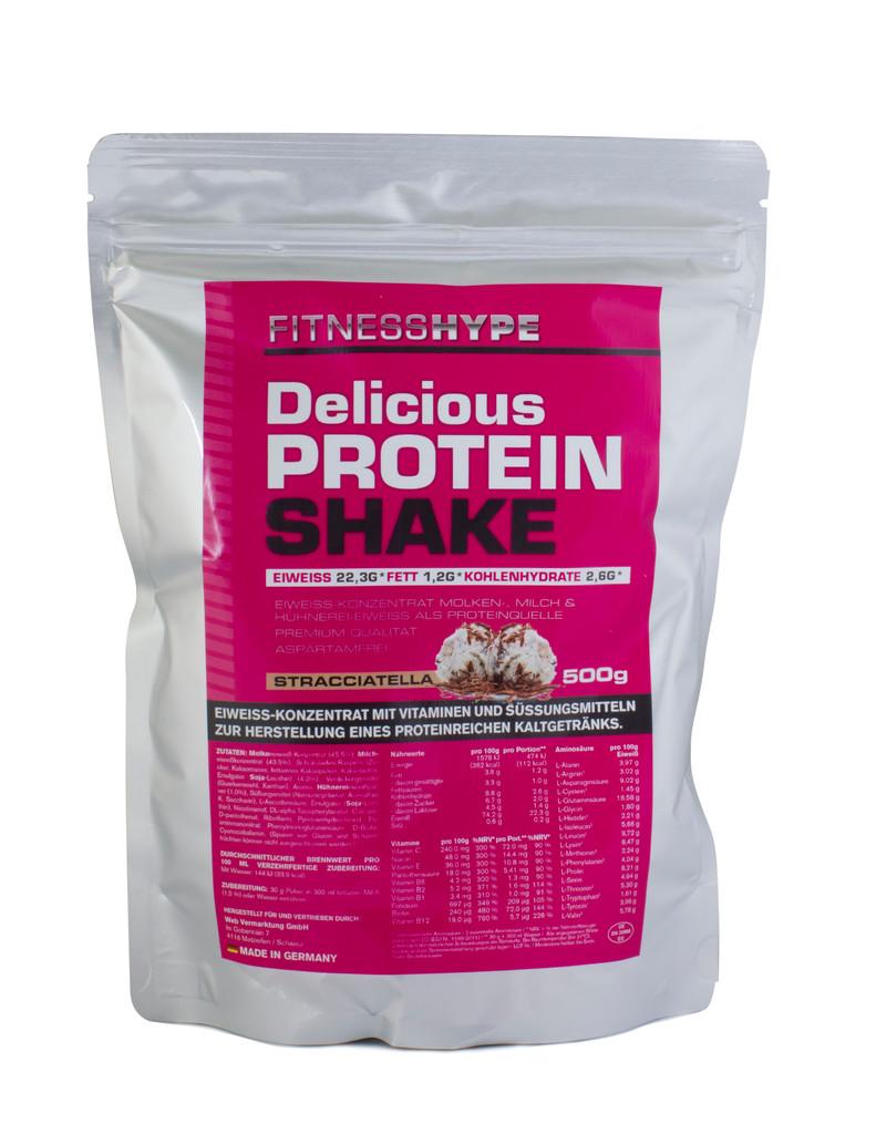 fitnesshype protein shake stracciatella g nstig kaufen fitnesshype. Black Bedroom Furniture Sets. Home Design Ideas