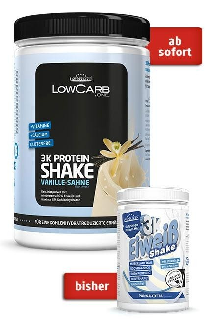 layenberger low carb shake one 3k 360g dose fitnesshype. Black Bedroom Furniture Sets. Home Design Ideas
