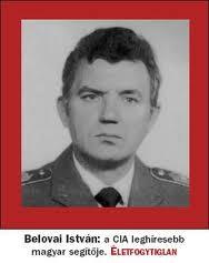 MILITAR HUNGARO BELOVAI ISTVAN UN AGENTE DE LA CIA ENCUBIERTO