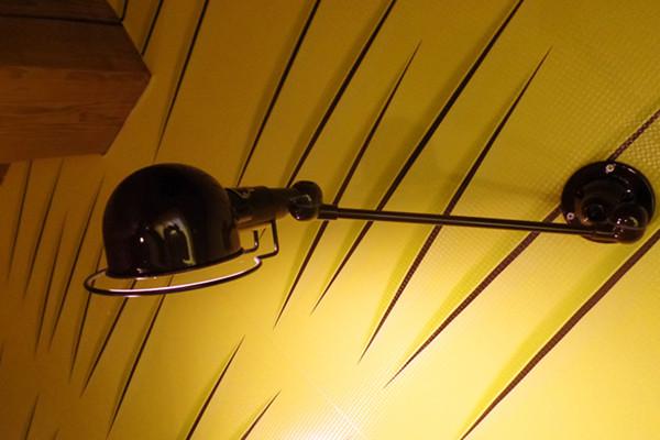 Éclairage de lit pour la superbe chambre Hirondelle