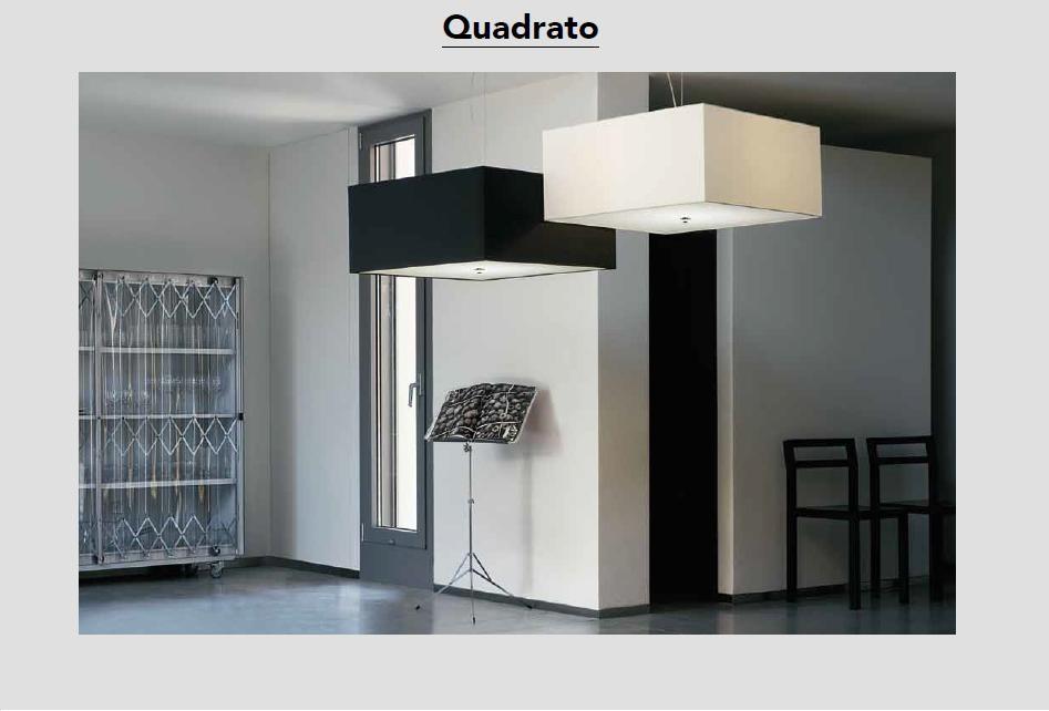 Quadrato - Pendelleuchten von Modoluce - bei Raum-Traum-Design