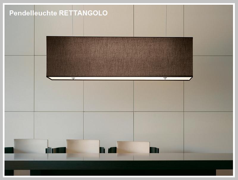 Pendelleuchte RETTANGOLO -                          by Rsum-Traum-Design.de