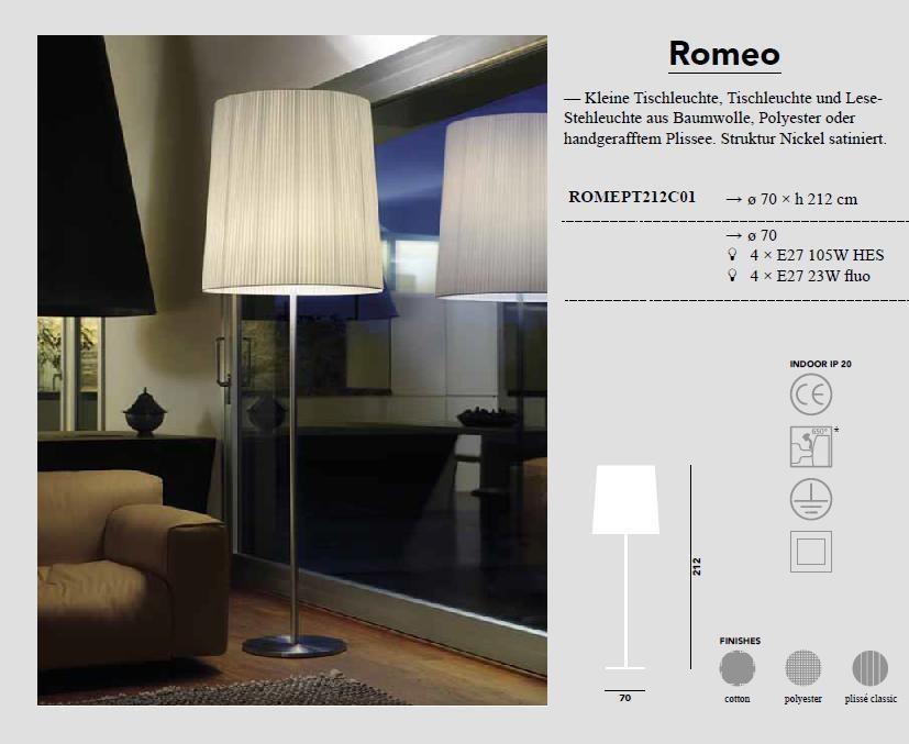 Romeo - Stehleuchte von Modoluce - bei Raum-Traum-Design