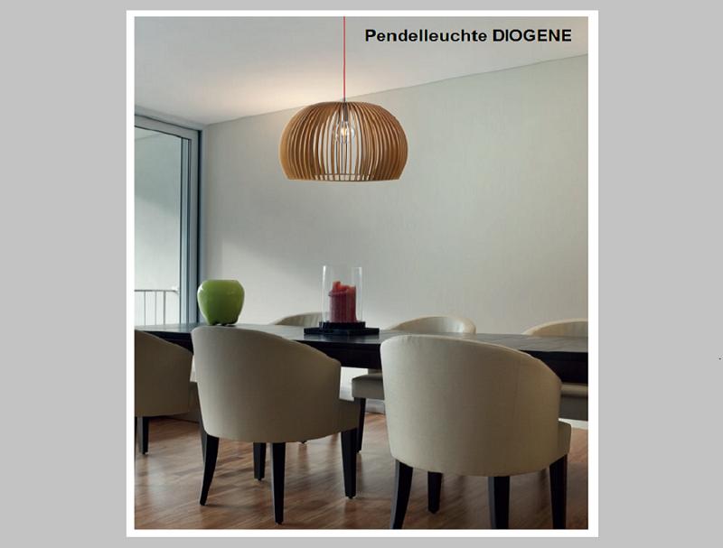 Pendelleuchte DIOGENE  -                                    by Raum-Traum-Design.de