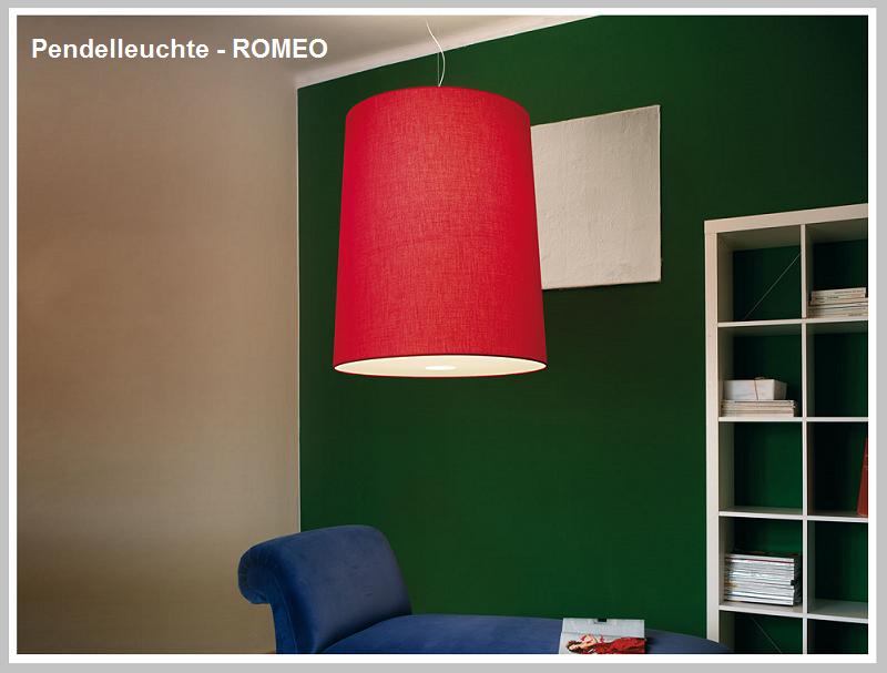 Pendelleuchte ROMEO    -                                    by Raum-Traum-Design.de