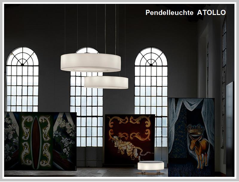 Pendelleuchte ATOLLO 100 cm  -                        by Raum-Traum-Design.de