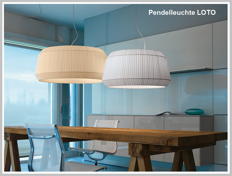 Pendelleuchte LOTO  100 + 140cm     -              by Raum-Traum-Design.de