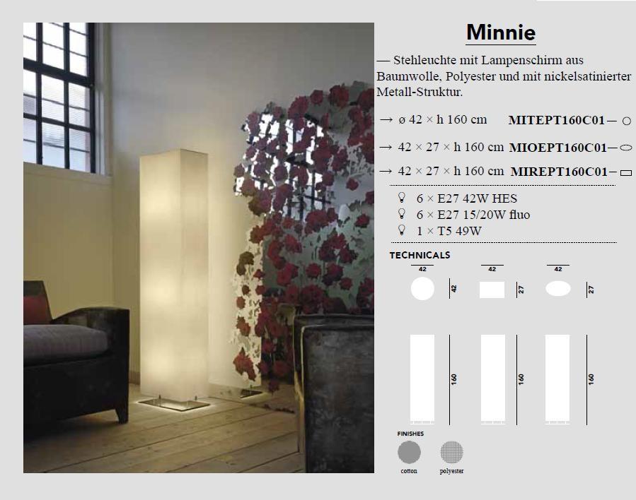 Minnie Stehleuchte quadratisch - von Modoluce - bei Raum-Traum-Design