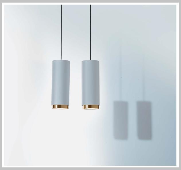 LED - Pendelleuchte, Pop P06 -bicolor,  Dm 6 und 12 cm, ARC oder CUP