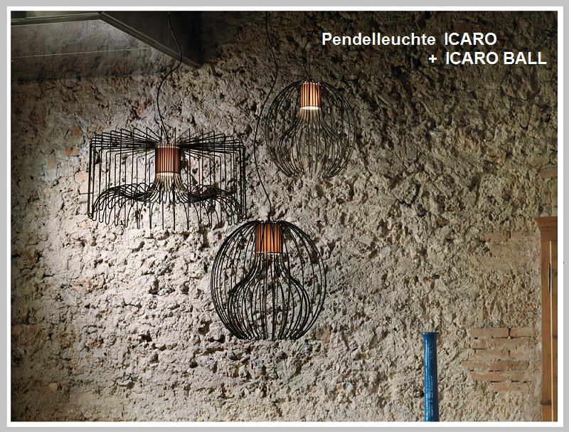 Pendelleuchte ICARO   -                                        by Raum-Traum-Design.de