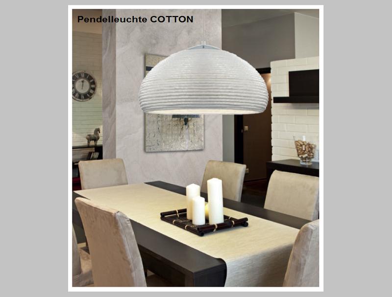 Pendelleuchte COTTON     -                                  by Raum-Traum-Design.de