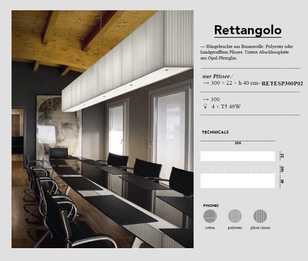 Rettangolo - Pendelleuchte - von Modoluce - bei Raum-Traum-Design
