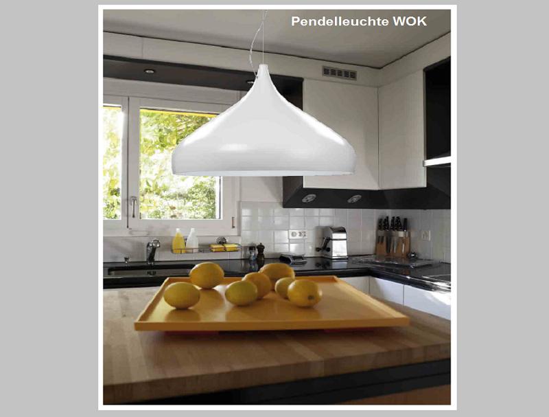 Pnedelleuchte WOK -                                              by Raum-Traum-Design.de