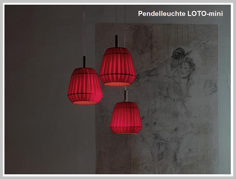 Pendelleuchte LOTO - mini  -                               by Raum-Traum-Design.de