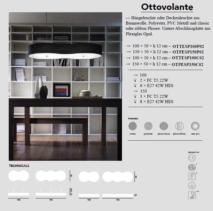 Ottovolante  - Pendelleuchte von Modoluce - bei Raum-Traum-Design