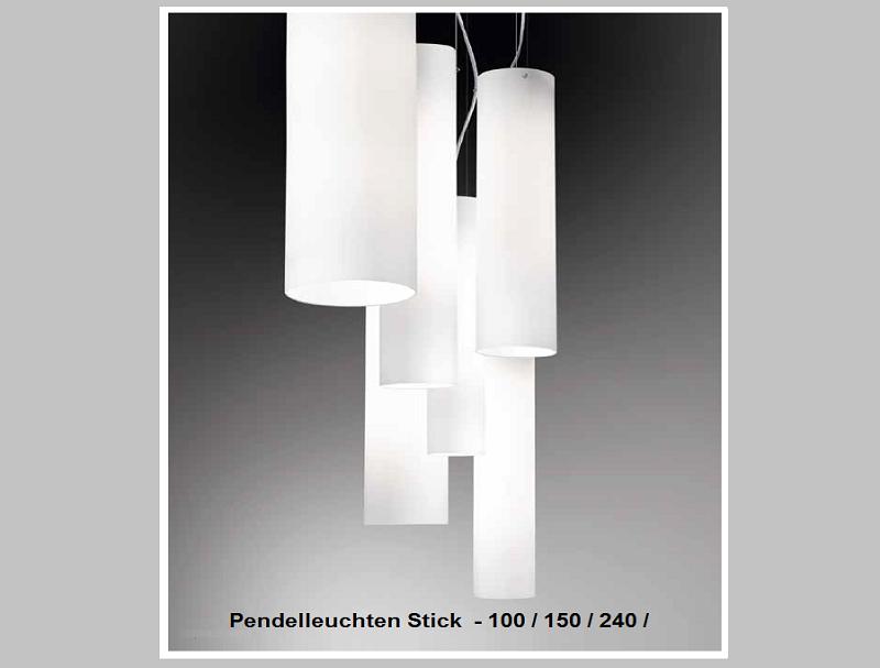 Pendelleuchten Stick-100 / 150 / 240                by Raum-Traum-Design.de
