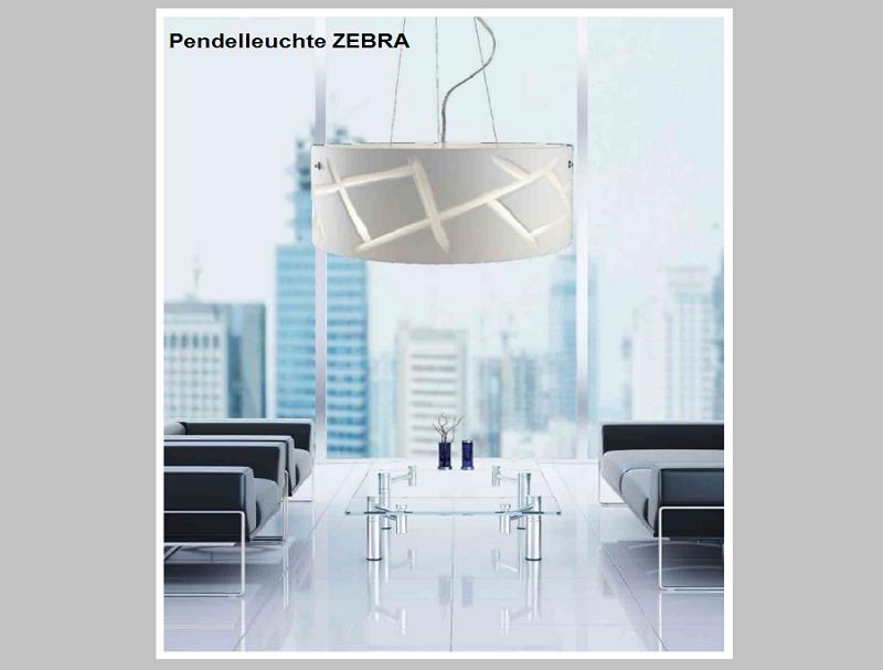 Pendelleuchte ZEBRA    -                                         by Raum-Traum-Design.de