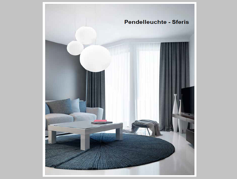 Pendelleuchte SFERIS   -                                        by Raum-Traum-Design.de