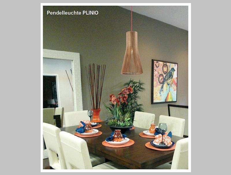Pendelleuchte PLINIO      -                                      by Raum-Traum-Design.de