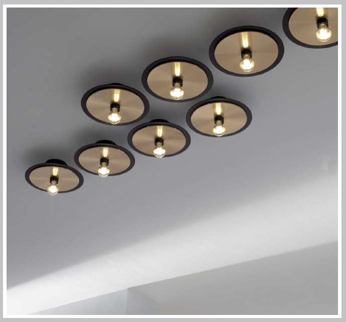 LED - Deckenleuchte Pop P33 - bicolor, Leuchtmittel LED