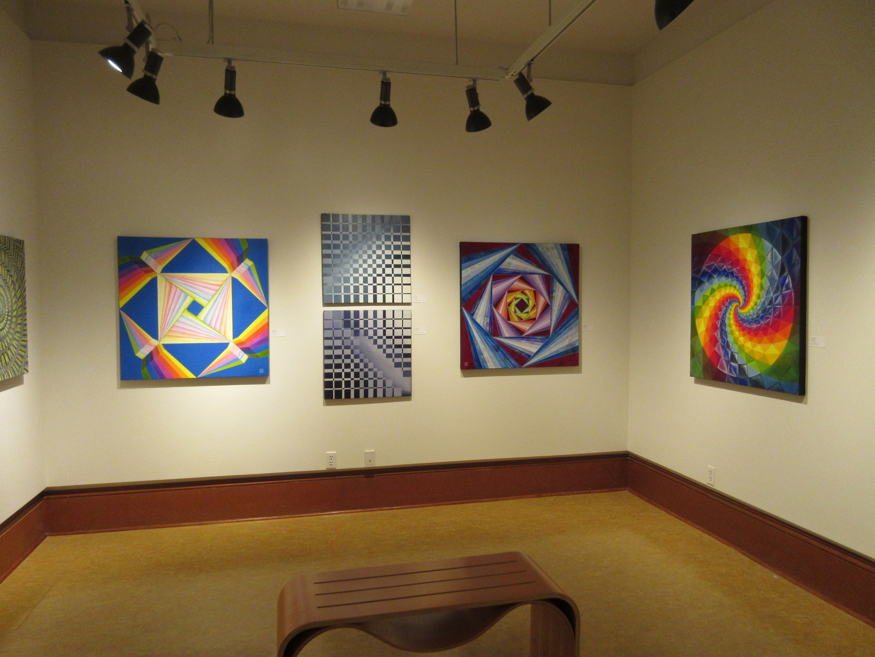 ...18 paintings in the West Gallery...