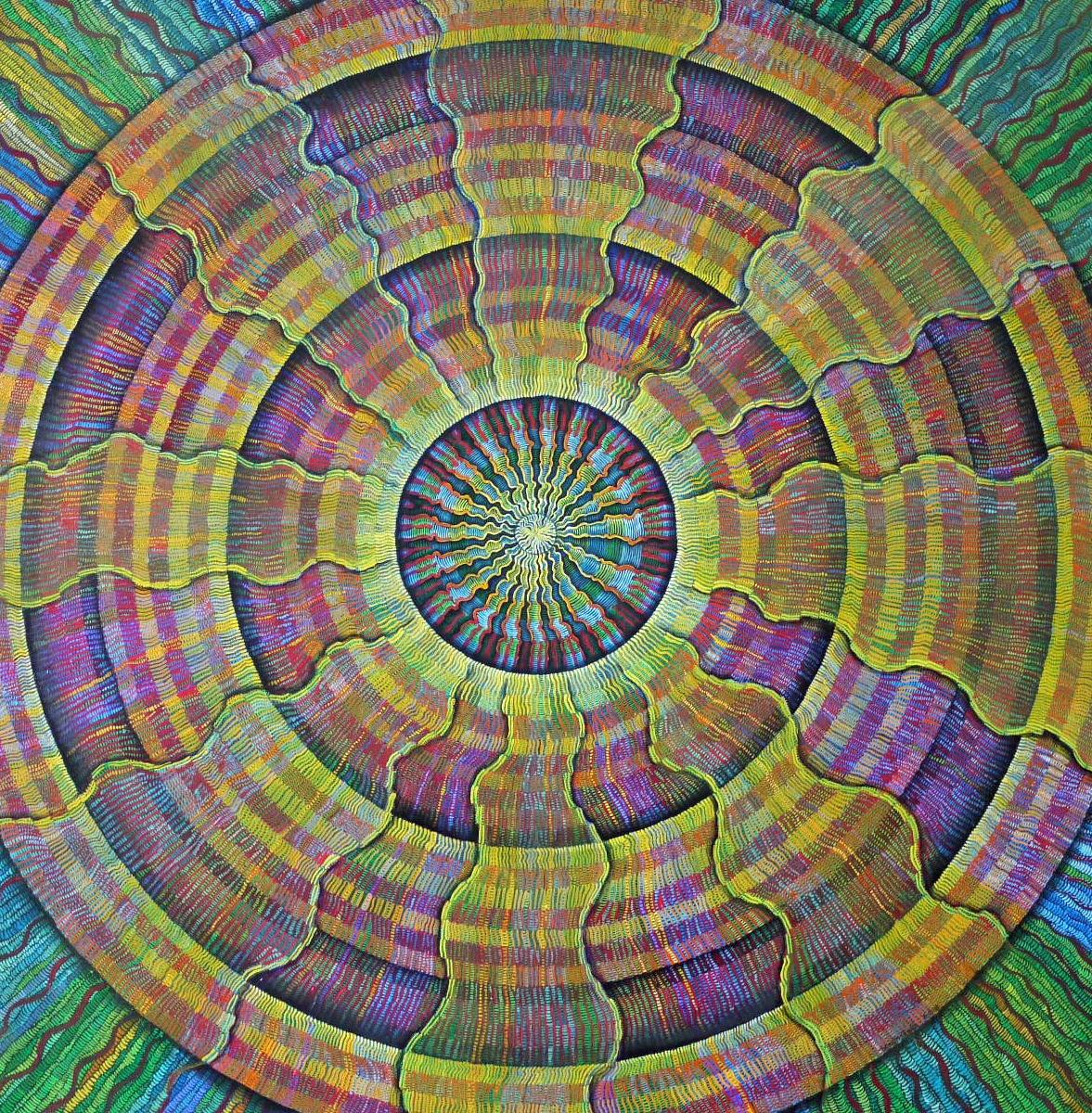 #475 - (Fibrous Series) oil on canvas 36x36, 8/18 (14)