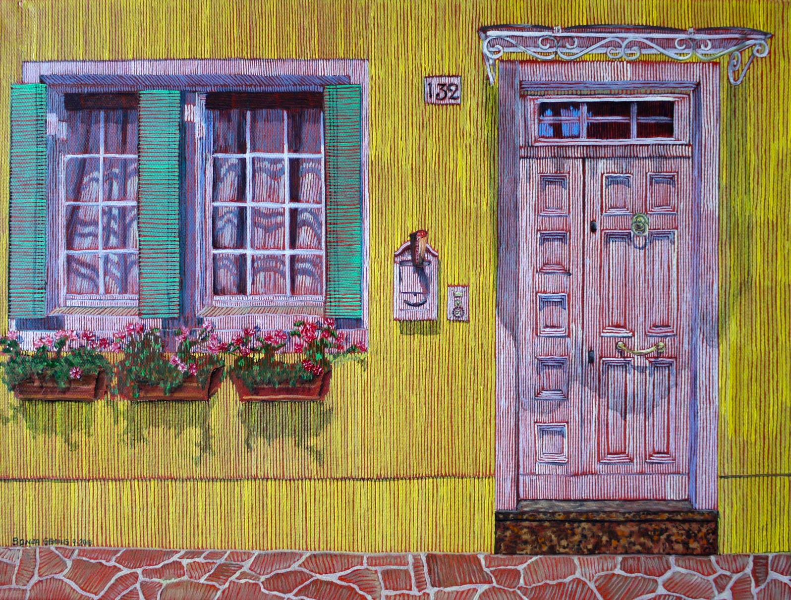 #479 - Doors of Europe Series VI, oil on canvas 12x16, 9/18