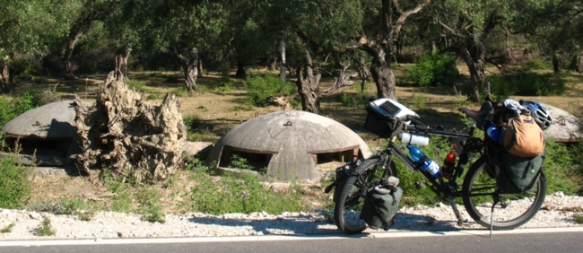 Concrete bunkers - Southern Albania