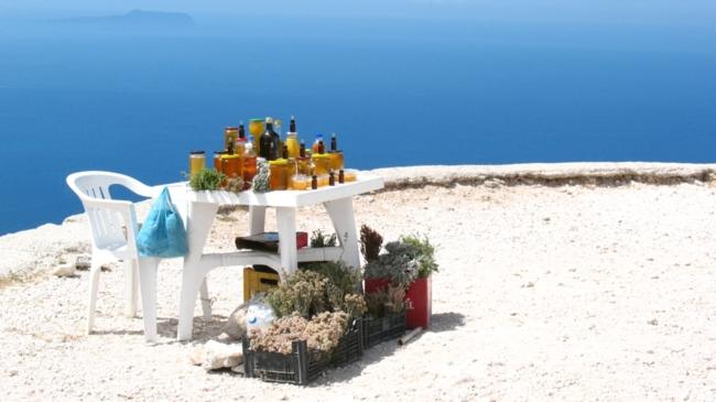 Roadside stop - Ionian Sea - Albania