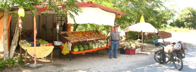 Fruit vendor - Northeastern Greece
