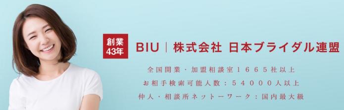 日本ブライダル連盟【BIU】
