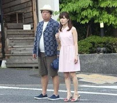 日村勇紀(バナナマン)&神田愛花(フリーアナウンサー)夫妻