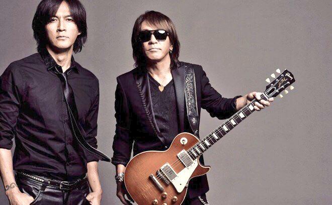 稲葉浩志(ボーカル) 松本孝弘(ギター)