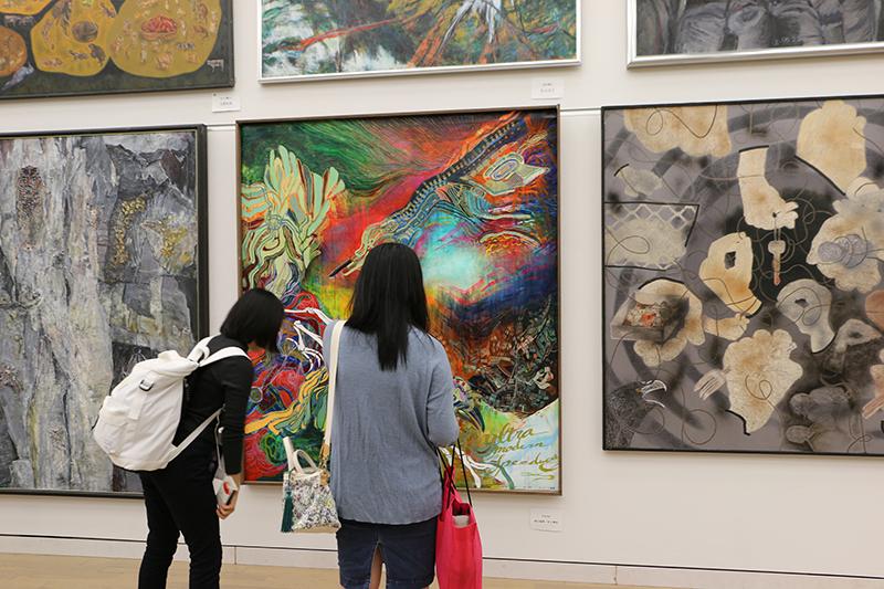 第84回独立展 展示風景(六本木・国立新美術館)