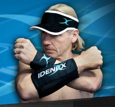Ich laufe mit der atmungsaktiven Sportbekleidung von IdeniXx, die aktive Kühlung dient der Leistungssteigerung und der besseren Regeneration.