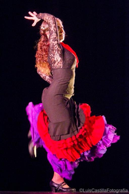 Lidon Patiño en Larachi Flamenca Sevilla 2011. Foto: Luis Castilla