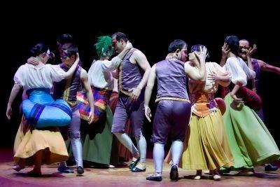 """""""La Giaconda"""" del Psico Ballet Maite León"""