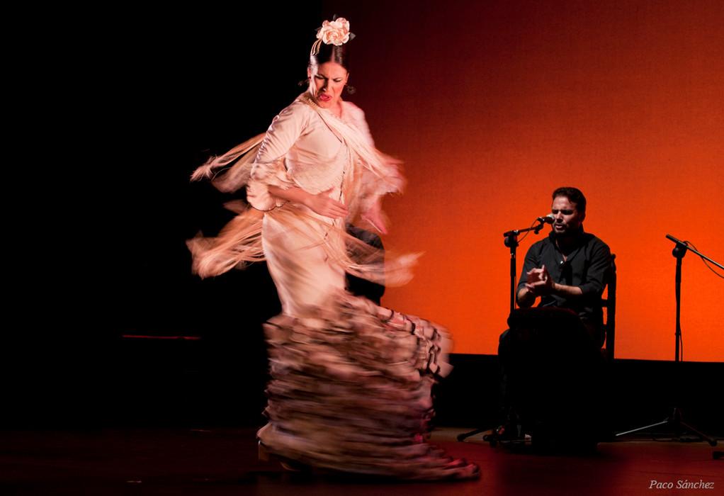 Guadalupe Torres en Larachi Flamenca Sevilla, 2011 Foto: Paco Sanchez