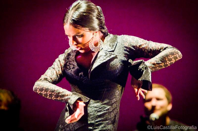 Belén López en Larachi Flamenca Sevilla 2011. Foto: Luis Castilla