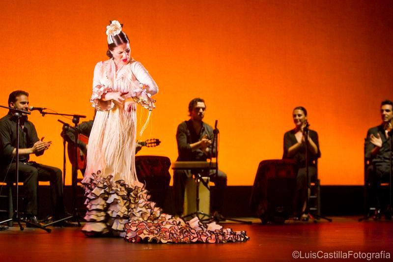 Guadalupe Torres en Larachi Flamenca Sevilla 2011. Foto: Luis Castilla