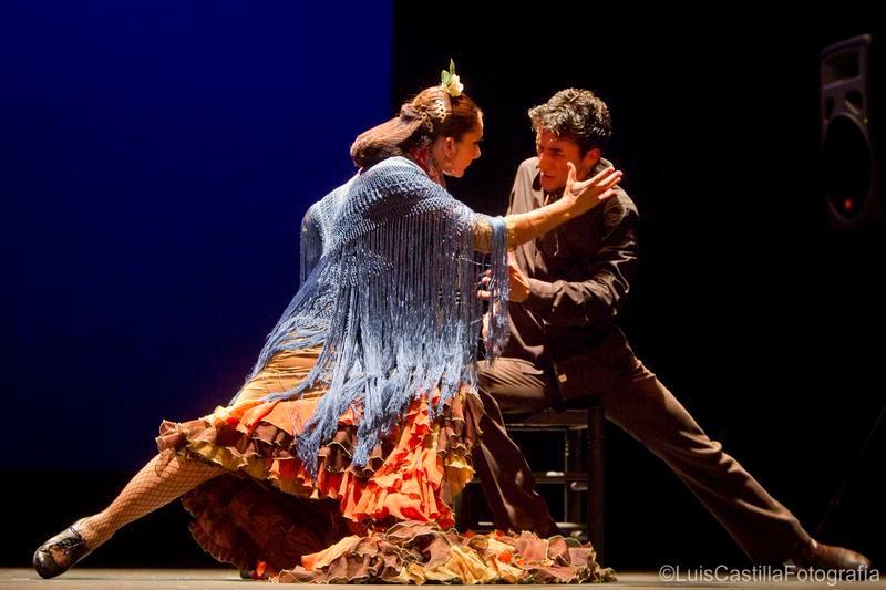 Manuela Ríos y Antoñete en Larachi Flamenca Sevilla 2011. Foto: Luis Castilla