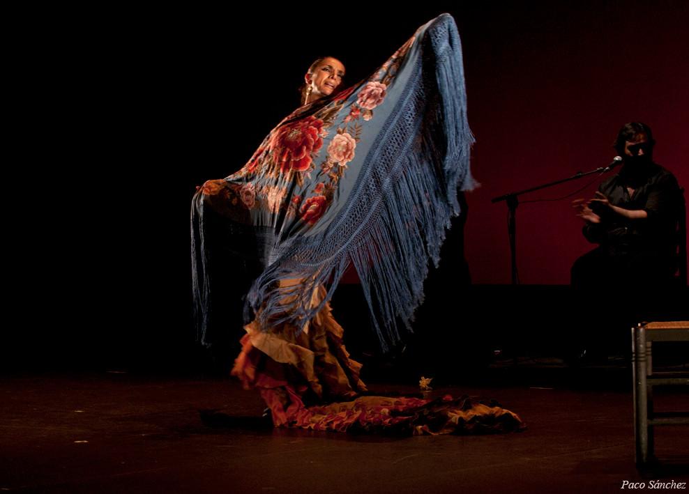 Manuela Ríos en Larachi Flamenca Sevilla, 2011 Foto: Paco Sanchez