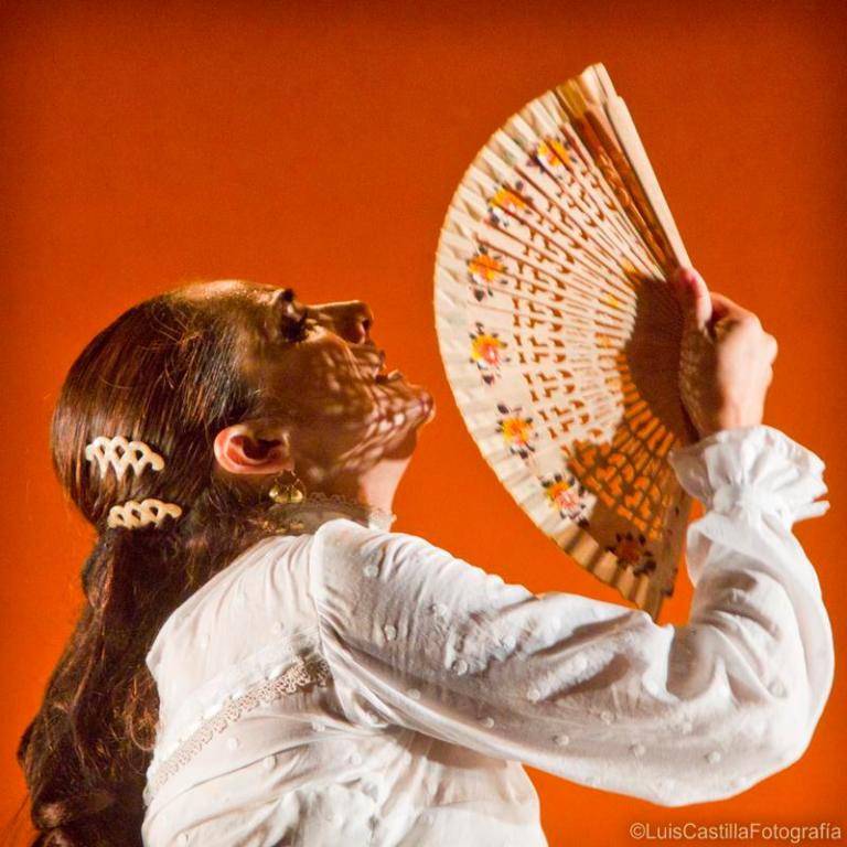 Manuela Ríos en Larachi Flamenca Sevilla 2011. Foto: Luis Castilla