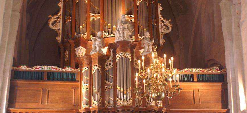 Het Van Dam-orgel uit de Kruiskerk