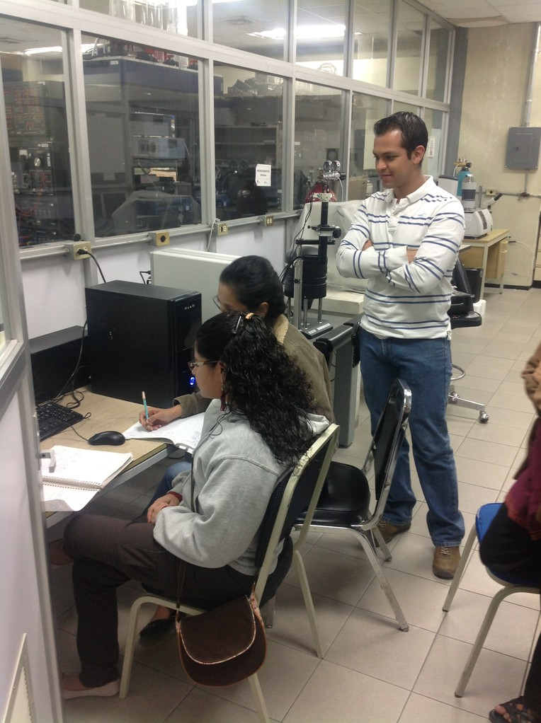 Students of PhD. Laboratory FIME UANL
