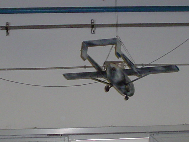 Model for wind tests